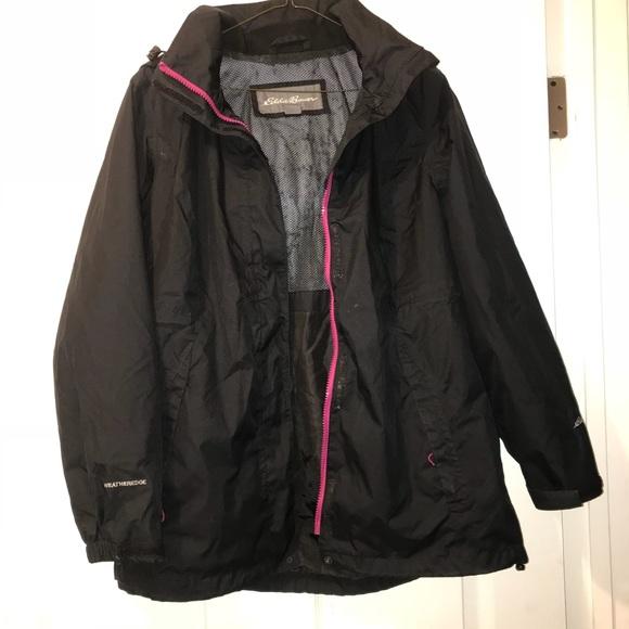 185999590e08 Eddie Bauer Jackets   Blazers - Eddie Bauer Rain Jacket